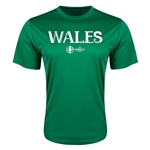 Wales Euro 2016 Core Training T-Shirt (Green)