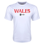 Wales Euro 2016 Core Training T-Shirt (White)