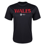 Wales Euro 2016 Core Training T-Shirt (Black)