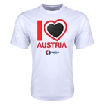 Austria Euro 2016 Heart Training T-Shirt (White)