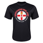 Northern Ireland Euro 2016 Flag Training T-Shirt (Black)