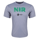Northern Ireland Euro 2016 Elements Training T-Shirt (Grey)
