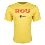 Romania Euro 2016 Elements Training T-Shirt (Yellow)