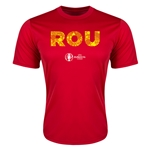 Romania Euro 2016 Elements Training T-Shirt (Red)