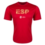 Spain Euro 2016 Elements Training T-Shirt (Red)