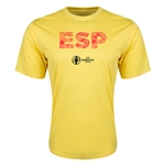 Spain Euro 2016 Elements Training T-Shirt (Yellow)