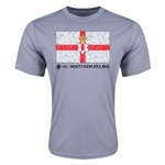 Northern Ireland Euro 2016 Elemental Flag Training T-Shirt (Grey)