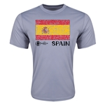 Spain Euro 2016 Elemental Flag Training T-Shirt (Grey)