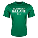 Northern Ireland Euro 2016 Core Training T-Shirt (Green)