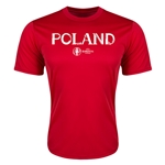 Poland Euro 2016 Core Training T-Shirt (Red)