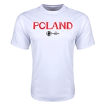 Poland Euro 2016 Core Training T-Shirt (White)
