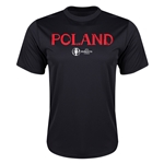 Poland Euro 2016 Core Training T-Shirt (Black)