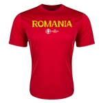 Romania Euro 2016 Core Training T-Shirt (Red)