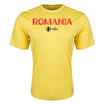 Romania Euro 2016 Core Training T-Shirt (Yellow)