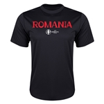 Romania Euro 2016 Core Training T-Shirt (Black)
