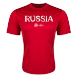 Russia Euro 2016 Core Training T-Shirt (Red)