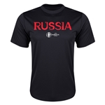 Russia Euro 2016 Core Training T-Shirt (Black)