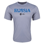 Russia Euro 2016 Core Training T-Shirt (Grey)