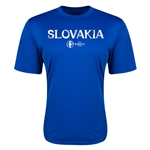Slovakia Euro 2016 Core Training T-Shirt (Royal)