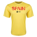 Spain Euro 2016 Core Training T-Shirt (Yellow)