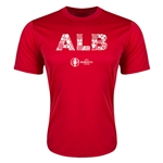 Albania Euro 2016 Elements Training T-Shirt (Red)