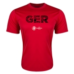 Germany Euro 2016 Elements Training T-Shirt (Red)