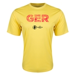 Germany Euro 2016 Elements Training T-Shirt (Yellow)