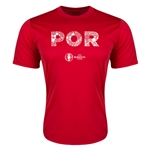 Portugal Euro 2016 Elements Training T-Shirt (Red)