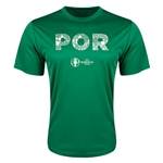Portugal Euro 2016 Elements Training T-Shirt (Green)