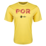 Portugal Euro 2016 Elements Training T-Shirt (Yellow)