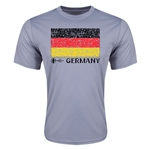 Germany Euro 2016 Elemental Flag Training T-Shirt (Grey)