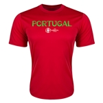 Portugal Euro 2016 Core Training T-Shirt (Red)