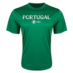 Portugal Euro 2016 Core Training T-Shirt (Green)