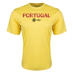Portugal Euro 2016 Core Training T-Shirt (Yellow)