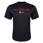 Switzerland Euro 2016 Core Training T-Shirt (Black)