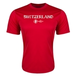 Switzerland Euro 2016 Core Training T-Shirt (Red)