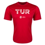 Turkey Euro 2016 Elements Training T-Shirt (Red)