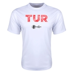 Turkey Euro 2016 Elements Training T-Shirt (White)