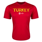 Turkey Euro 2016 Core Training T-Shirt (Red)