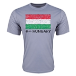 Hungary Euro 2016 Elemental Flag Training T-Shirt (Grey)