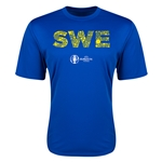 Sweden Euro 2016 Elements Training T-Shirt (Royal)