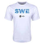 Sweden Euro 2016 Elements Training T-Shirt (White)