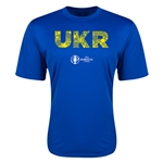 Ukraine Euro 2016 Elements Training T-Shirt (Royal)