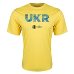 Ukraine Euro 2016 Elements Training T-Shirt (Yellow)