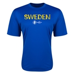 Sweden Euro 2016 Core Training T-Shirt (Royal)