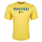 Sweden Euro 2016 Core Training T-Shirt (Yellow)