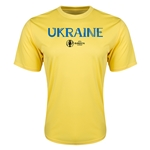 Ukraine Euro 2016 Core Training T-Shirt (Yellow)