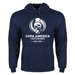 Copa America 2016 Single Color Emblem Performance Hoody (Navy)