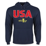 USA CONCACAF Gold Cup 2015 Big Logo Hoody (Navy)