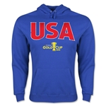 USA CONCACAF Gold Cup 2015 Big Logo Hoody (Royal)